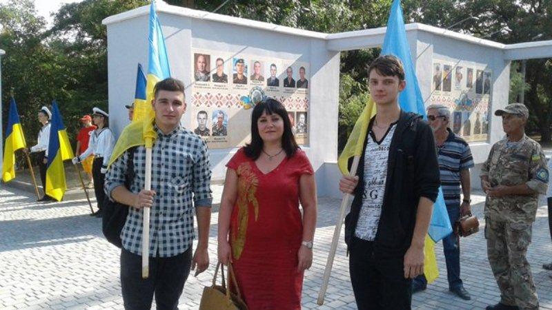 Vidkryttya «Aleyi heroyiv Ukrayiny»
