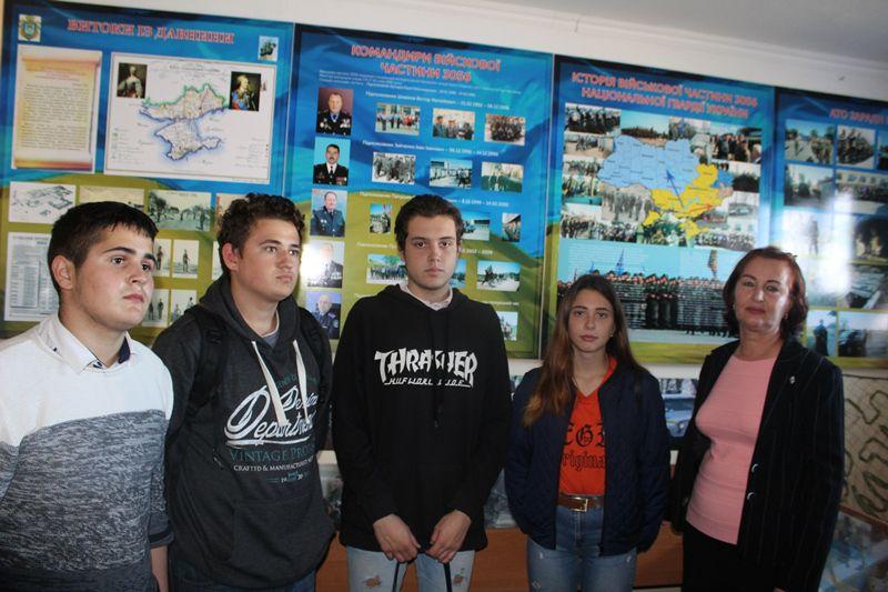 Ekskursiya do viysʹkovoyi chastyny 3056 Natsionalʹnoyi Hvardiyi Ukrayiny