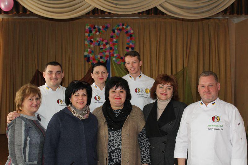 """Zustrich z predstavnykamy Khersonsʹkoho filialu """"Pivdennoyi asotsiatsiyi shef-kukhariv Ukrayiny"""""""