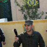 Ekskursiya u viysʹkovu chastynu Natsionalʹnoyi hvardiyi Ukrayiny
