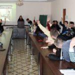 Zvitno-vyborcha konferentsiya uchnivsʹkoho samovryaduvannya