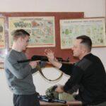 Urok muzhnosti dlya maybutnikh zakhysnykiv Ukrayiny!